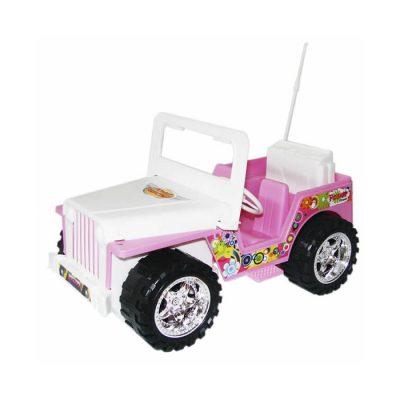 Girl Jeep