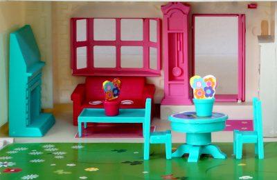 Casa de Muñecas- detalle de sala