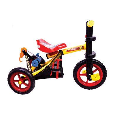 Triciclo Grua vista de perfil
